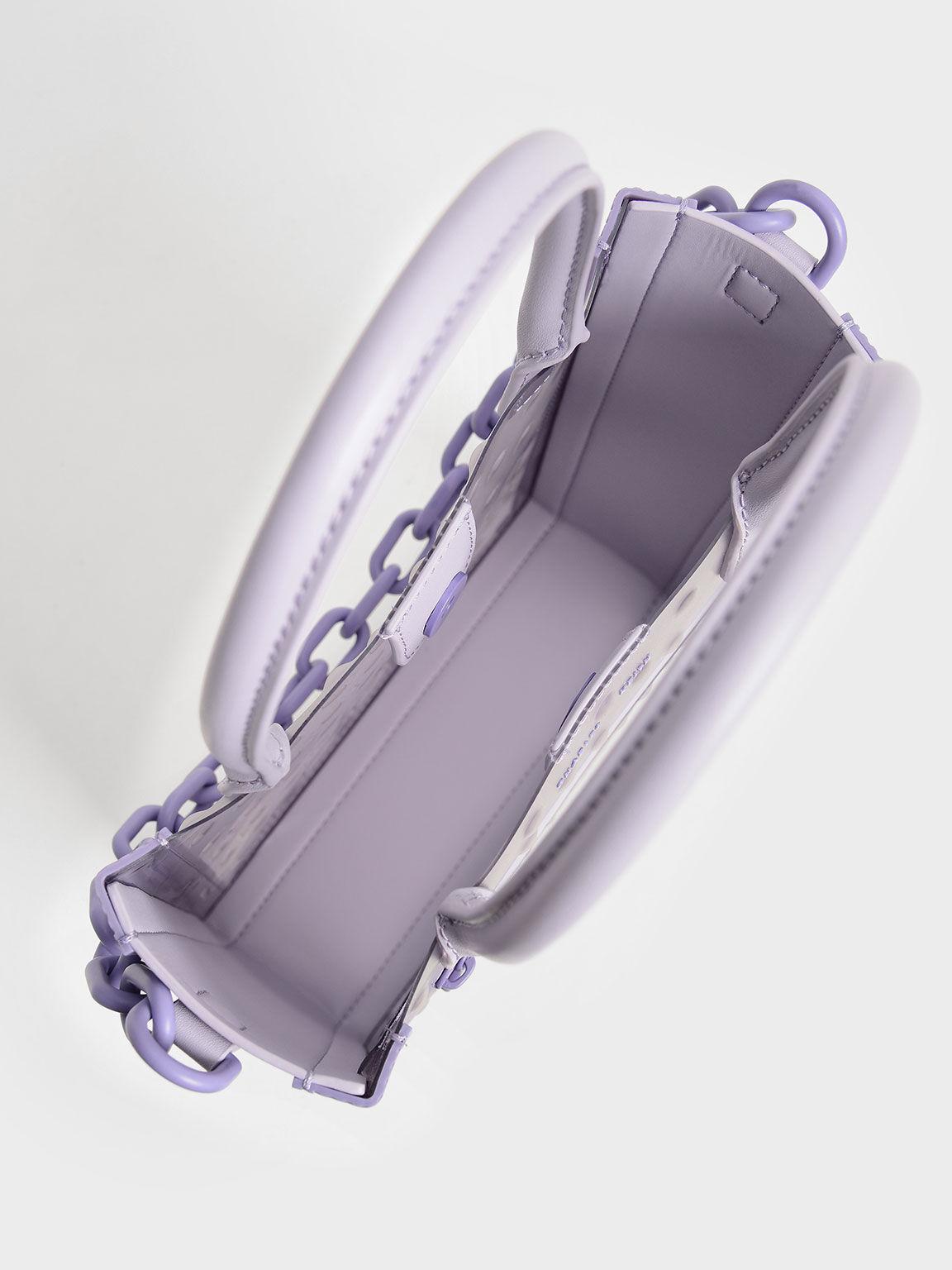 點點果凍托特包, 紫丁香色, hi-res
