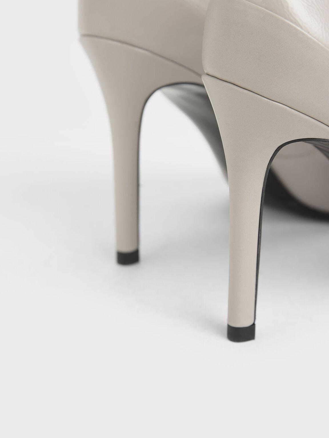 繞踝尖頭高跟鞋, 膚色, hi-res