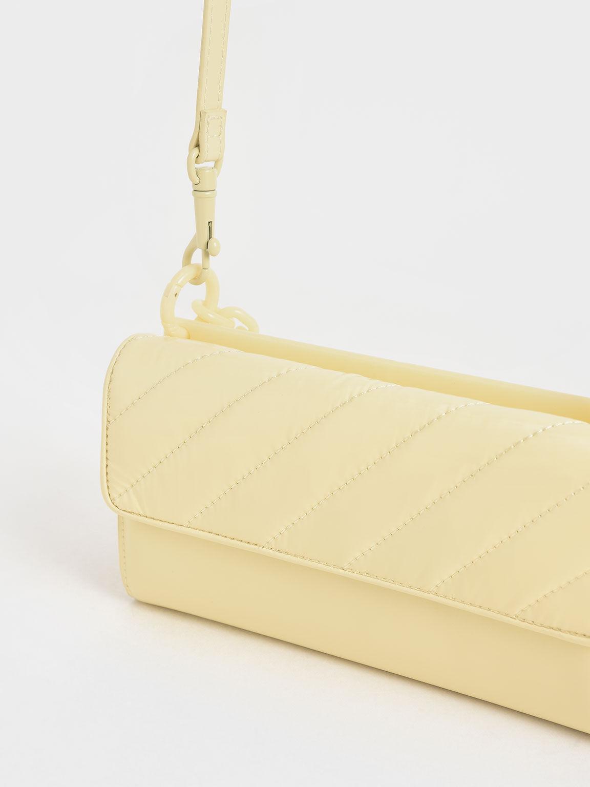 Glow-In-The-Dark Wallet, Butter, hi-res