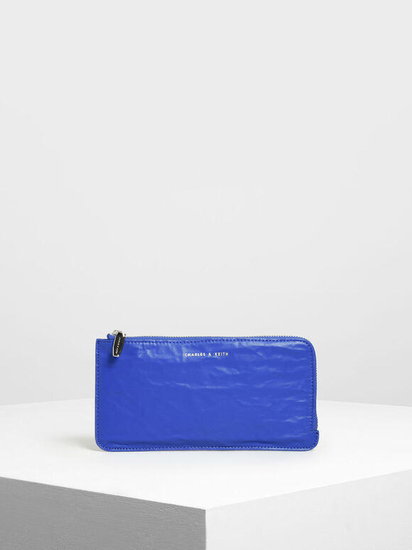 L-Zip Wallet, Blue, hi-res