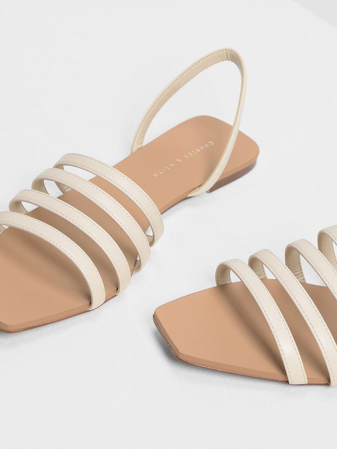 4-bar Sandals, Chalk, hi-res