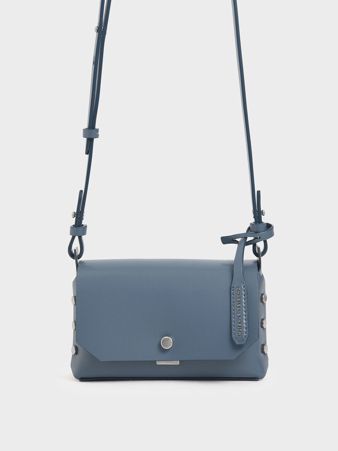 Mini Reversible Front Flap Crossbody Bag, Blue, hi-res