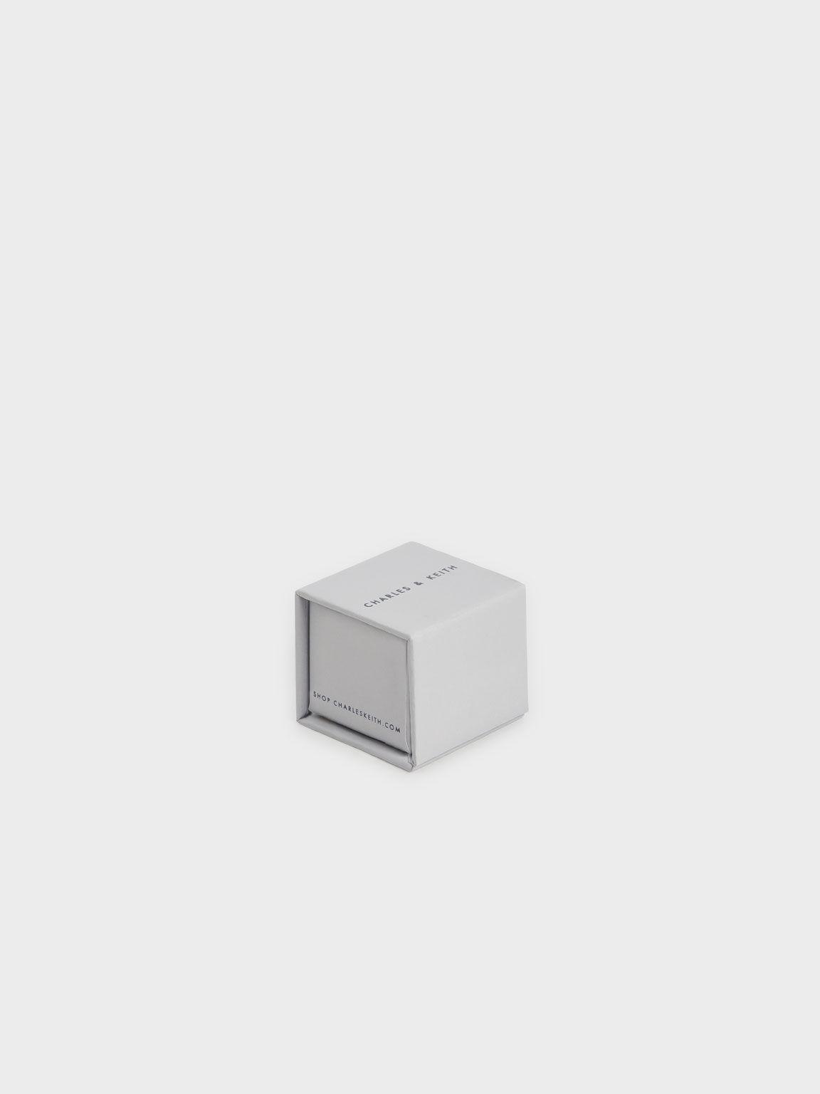 Swarovski® Crystal Embellished Wrap Ring, Green, hi-res