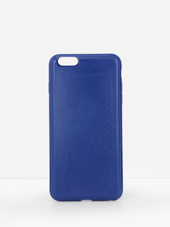 iPhone 6 Plus Slide Case Cover, Blue, hi-res
