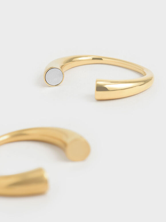 Metal Cuff Bracelet, Multi, hi-res