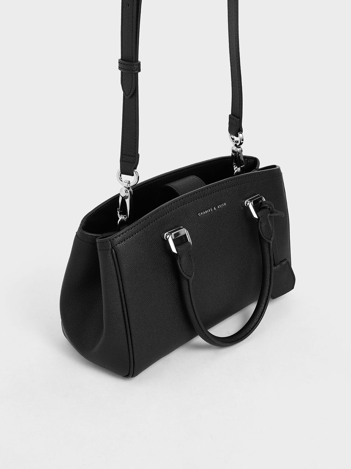 Slouchy Bag, Black, hi-res