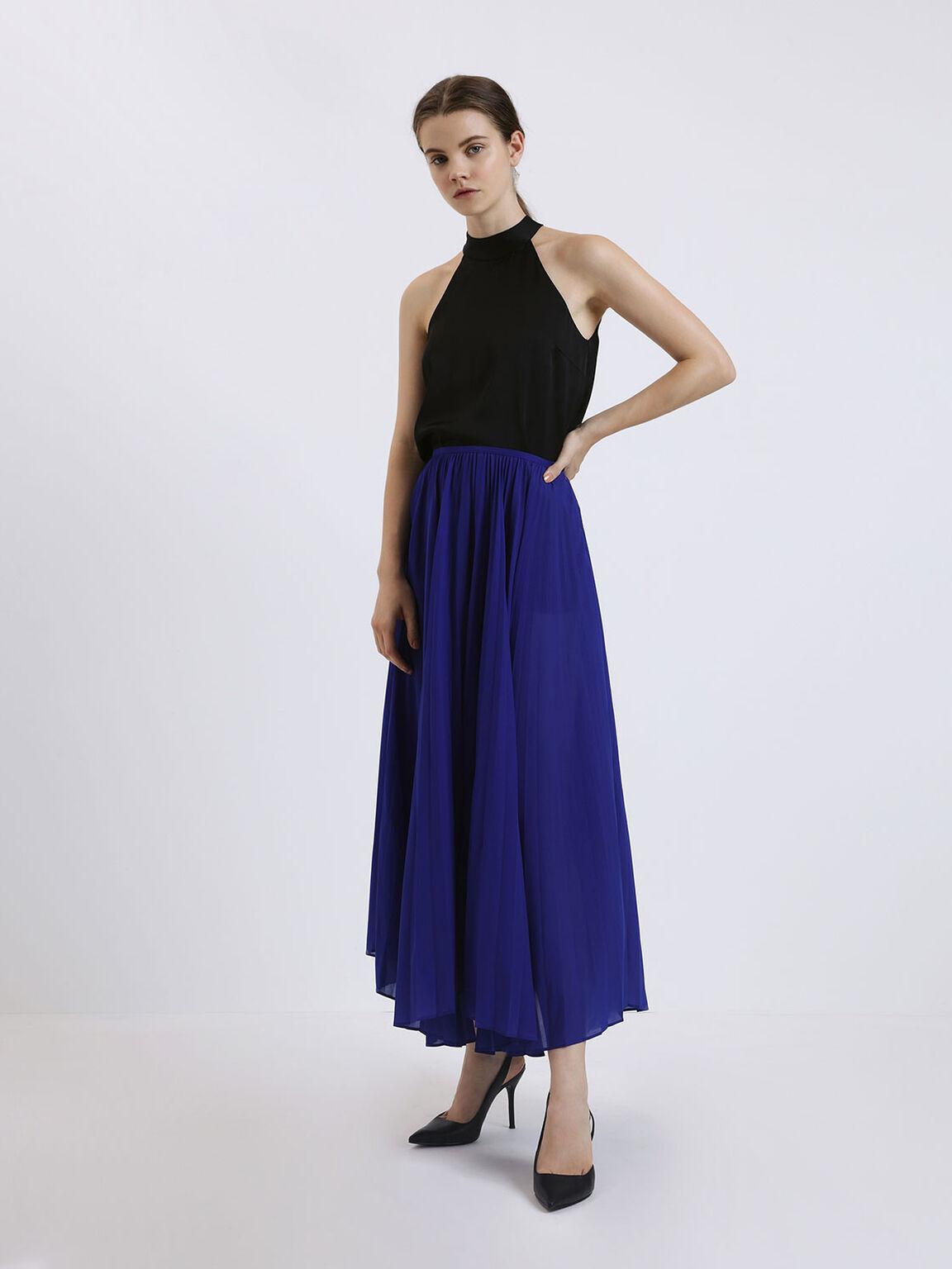 D'Orsay Slingback Heels, Black, hi-res