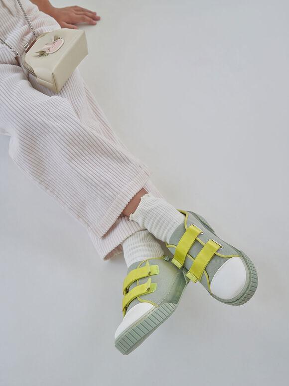 實踐系列:兒童有機帆布餅乾鞋, 薄荷綠, hi-res