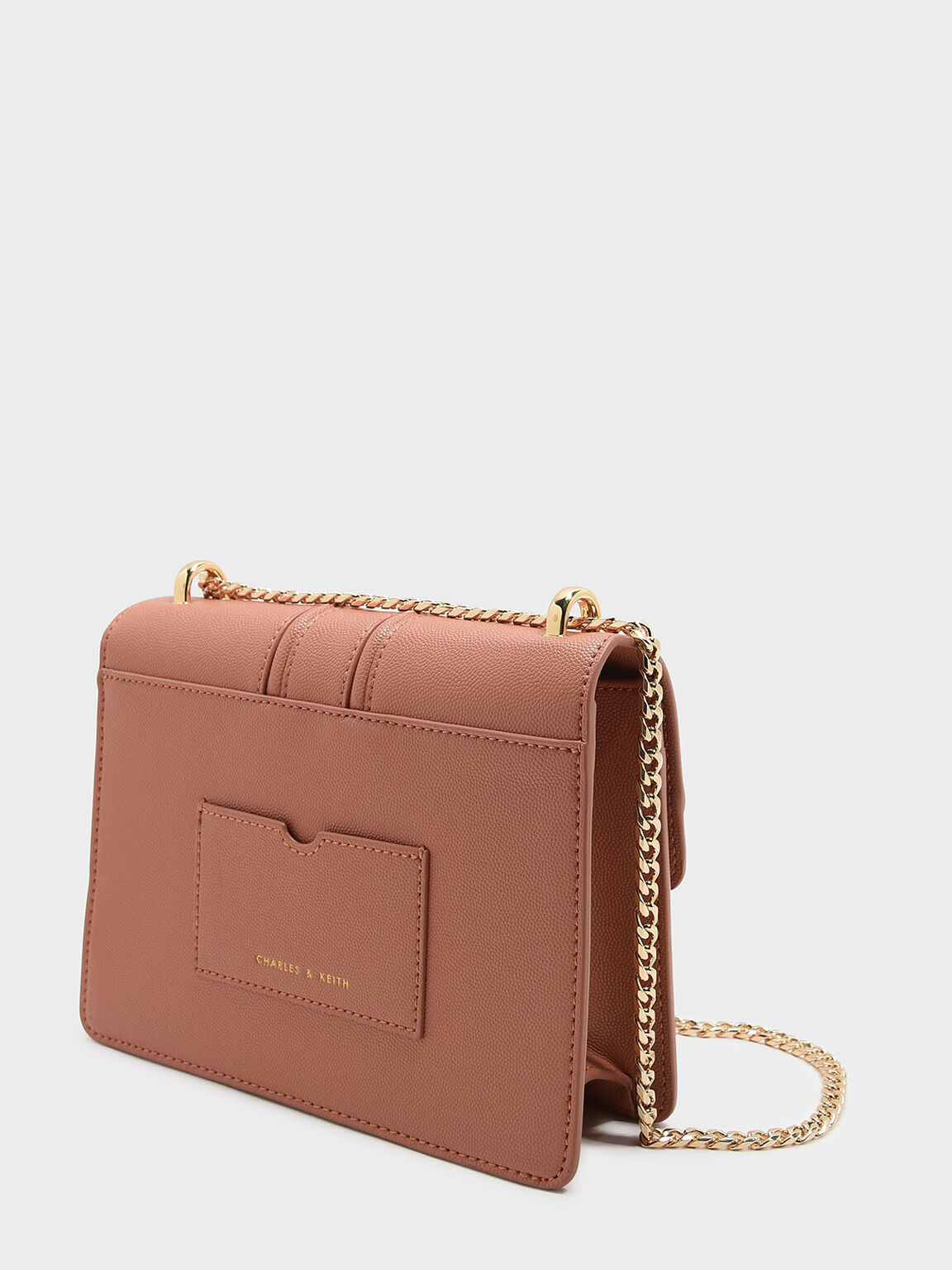 Push-Lock Shoulder Bag, Blush, hi-res