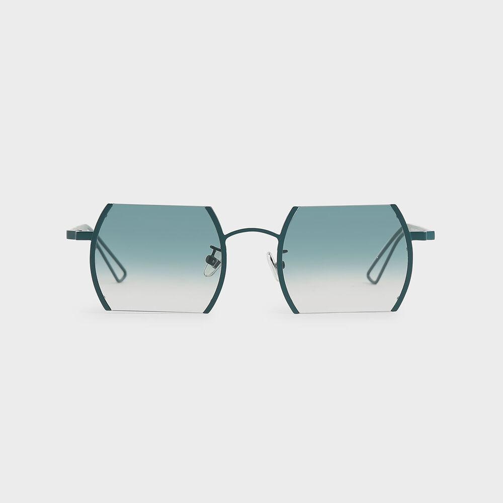 金屬半框墨鏡