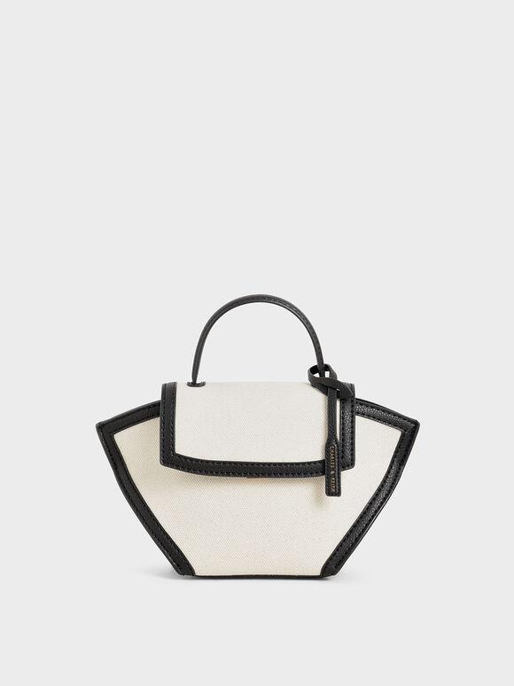 中型手提鞦韆包, 黑色特別款, hi-res