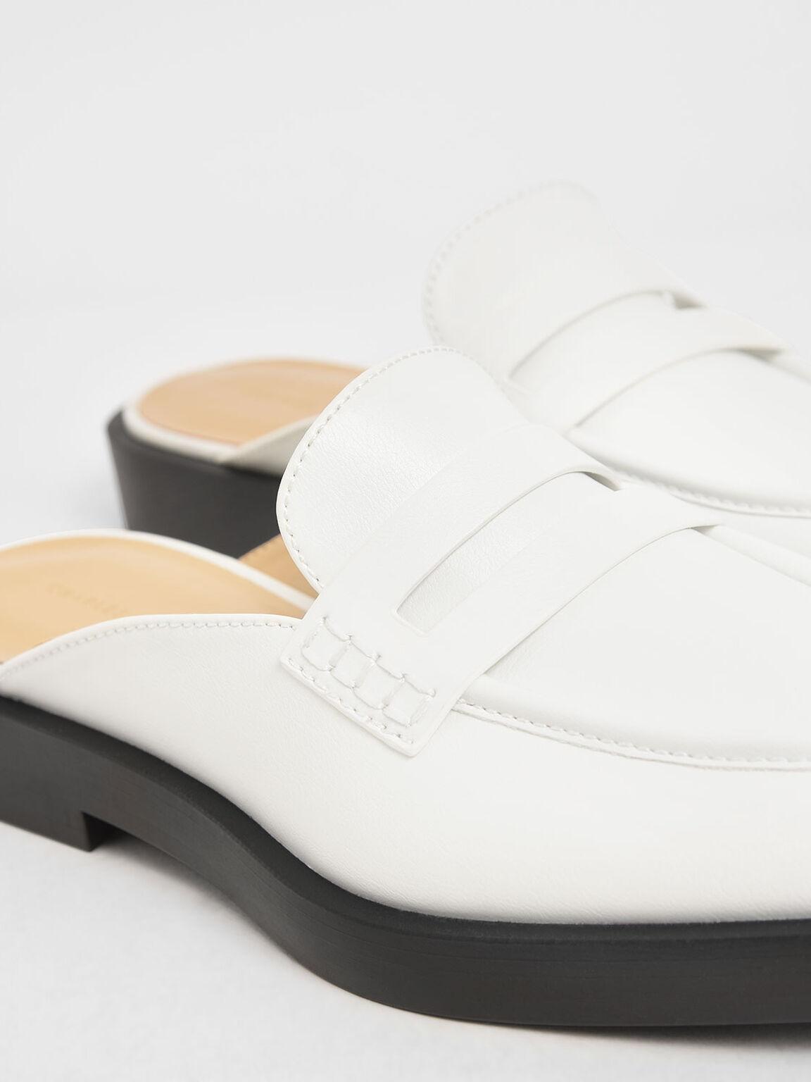 樂福穆勒鞋, 白色, hi-res