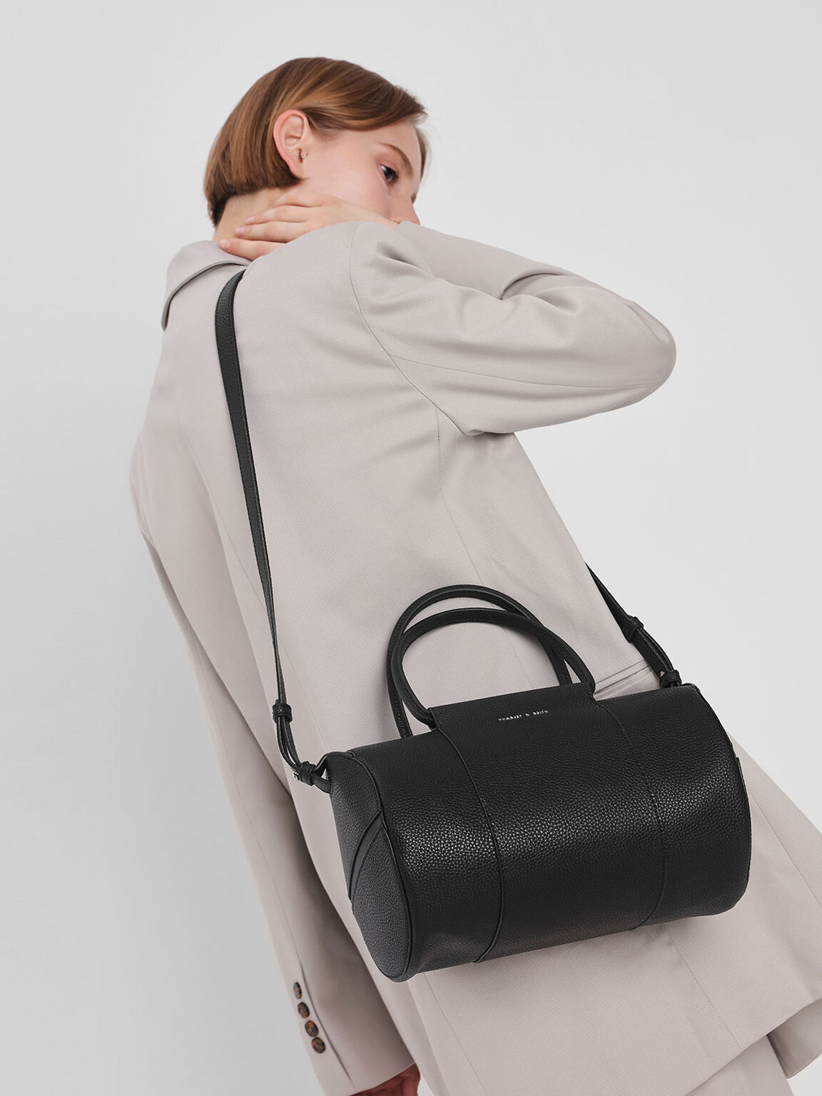 Long Bowling Bag, Black, hi-res