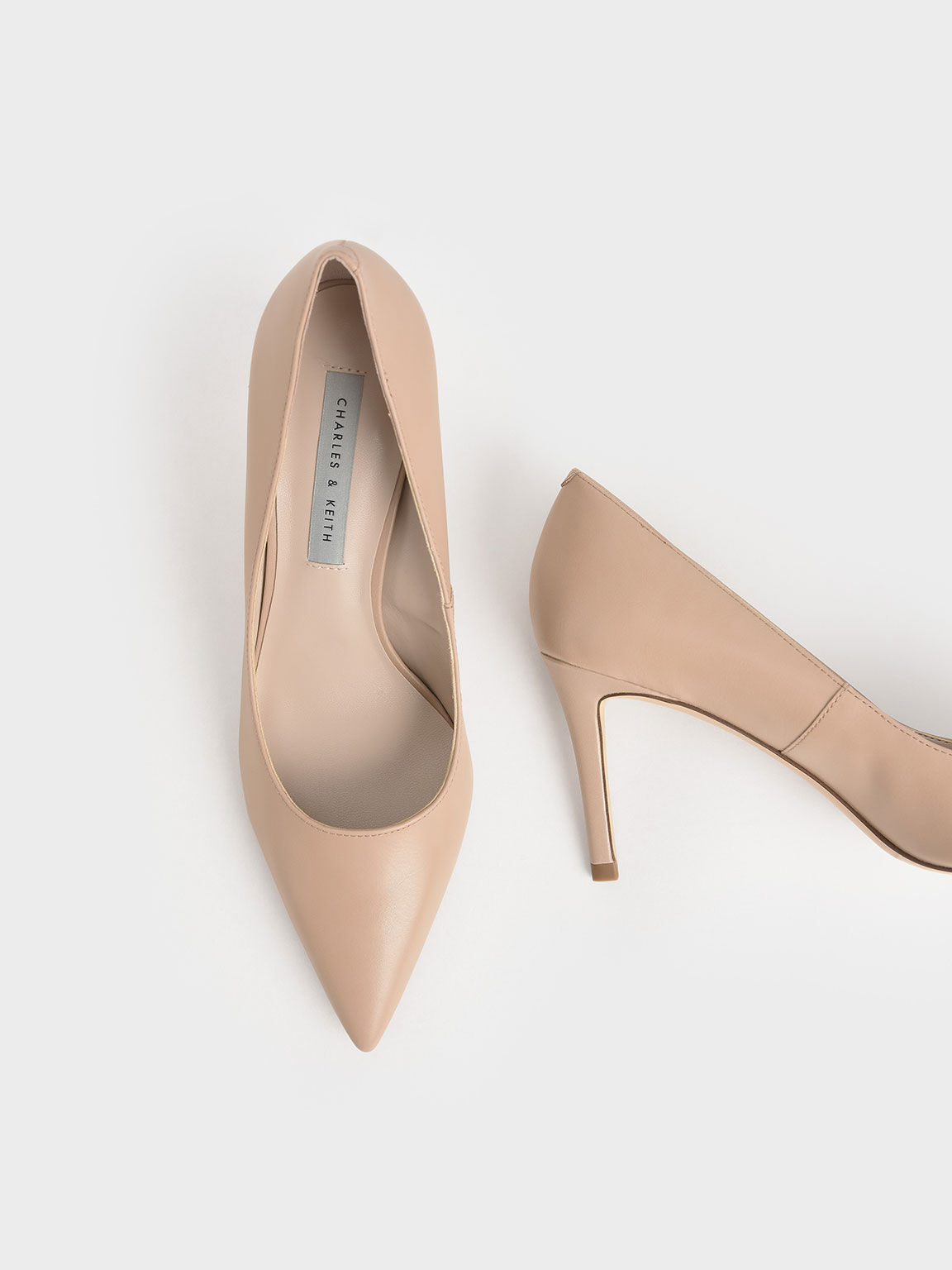經典尖頭高跟鞋, 膚色, hi-res