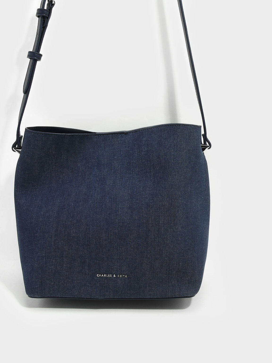 Slouchy Sling Bag, Navy, hi-res