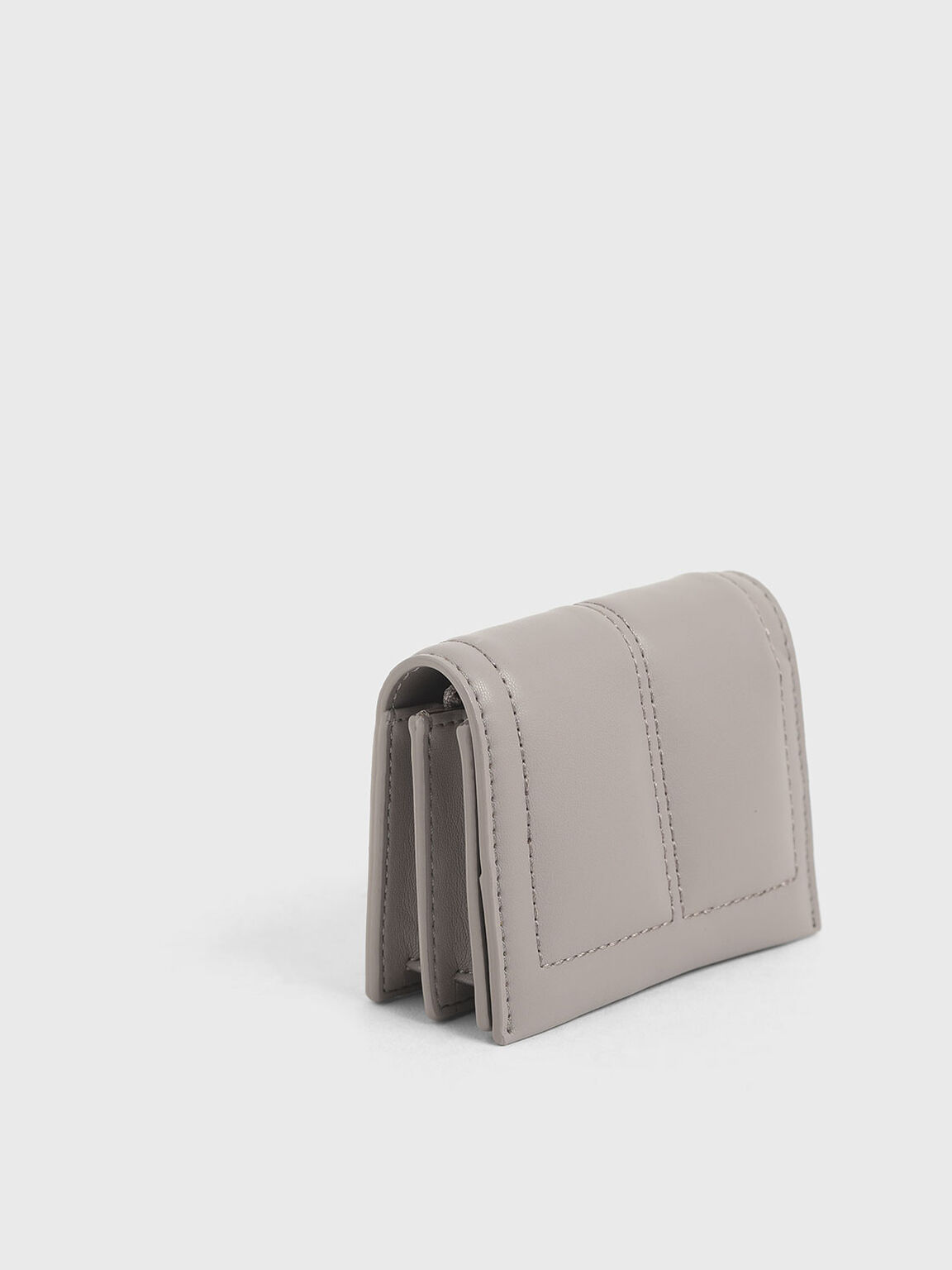 Quilted Card Holder, Sand, hi-res