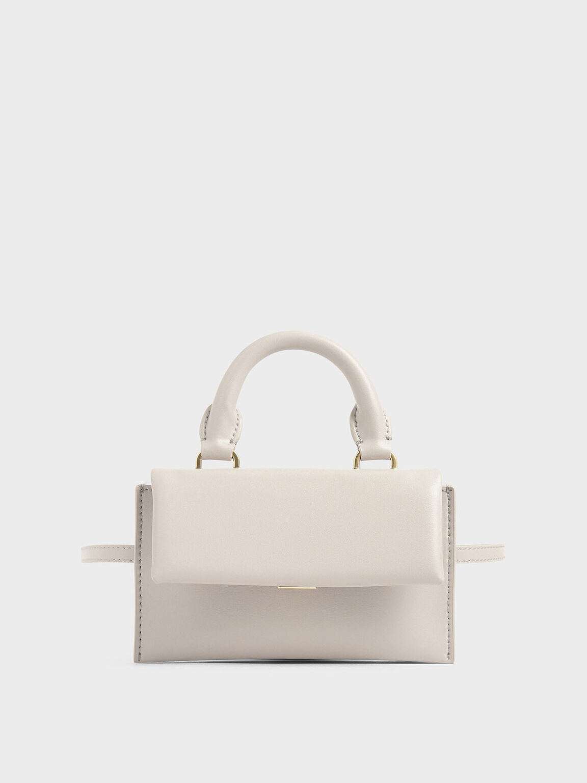 Rectangular Belt Bag, Nude, hi-res
