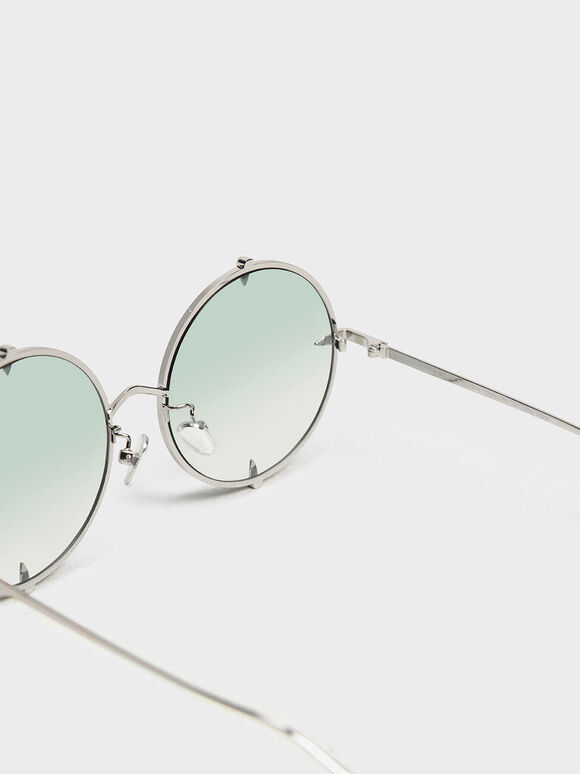 金屬圓框墨鏡, 混色, hi-res