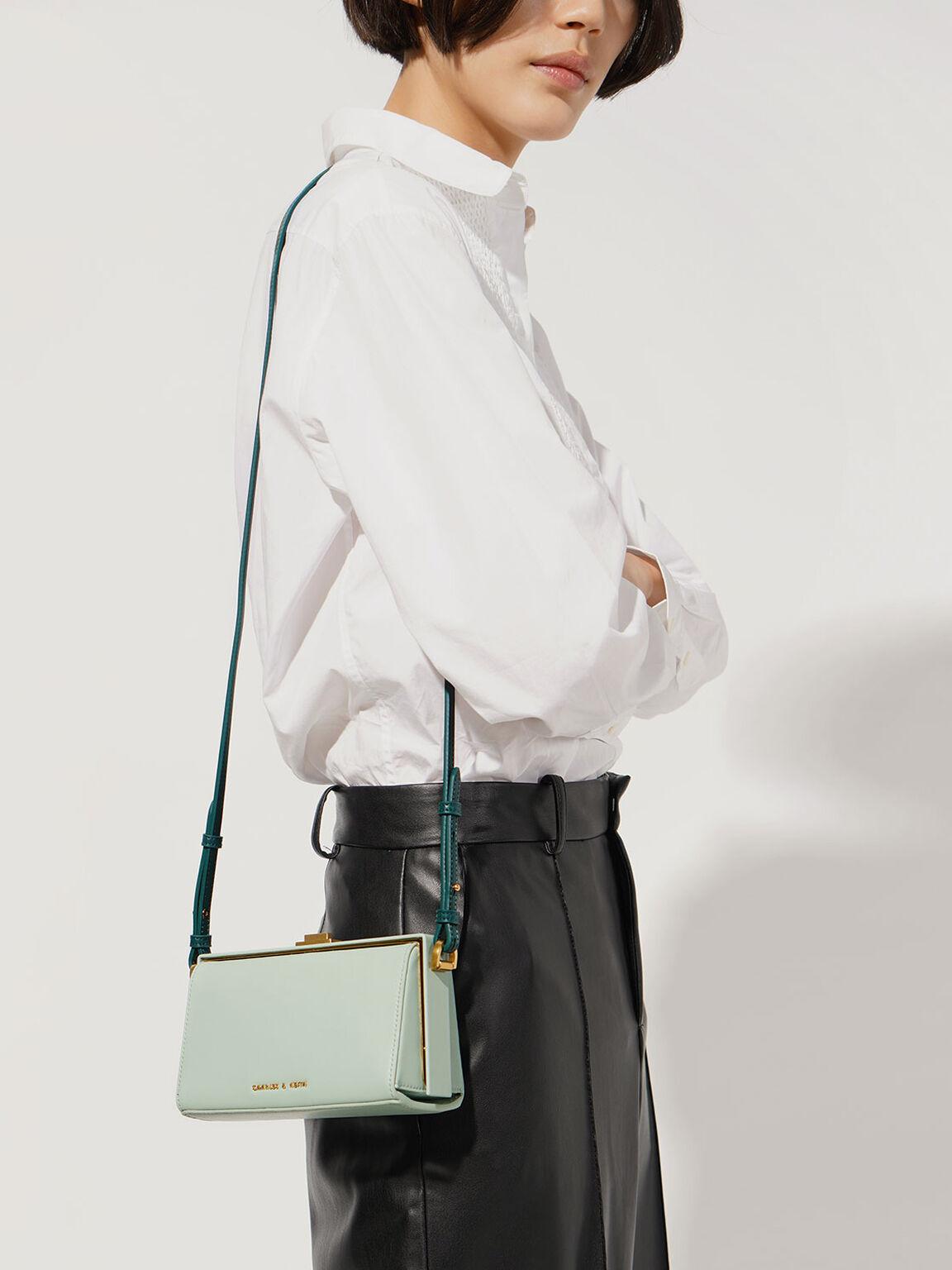 Rectangular Belt Bag, Mint Green, hi-res