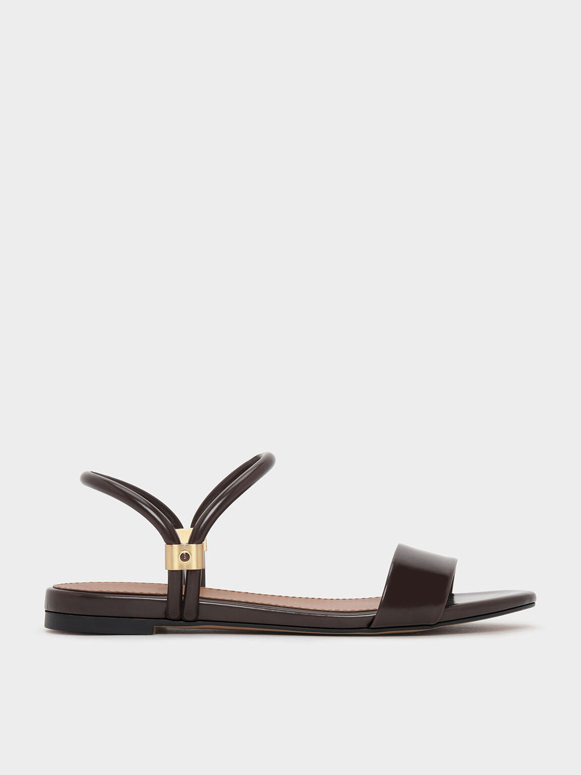 Two Way Sandals, Dark Brown, hi-res