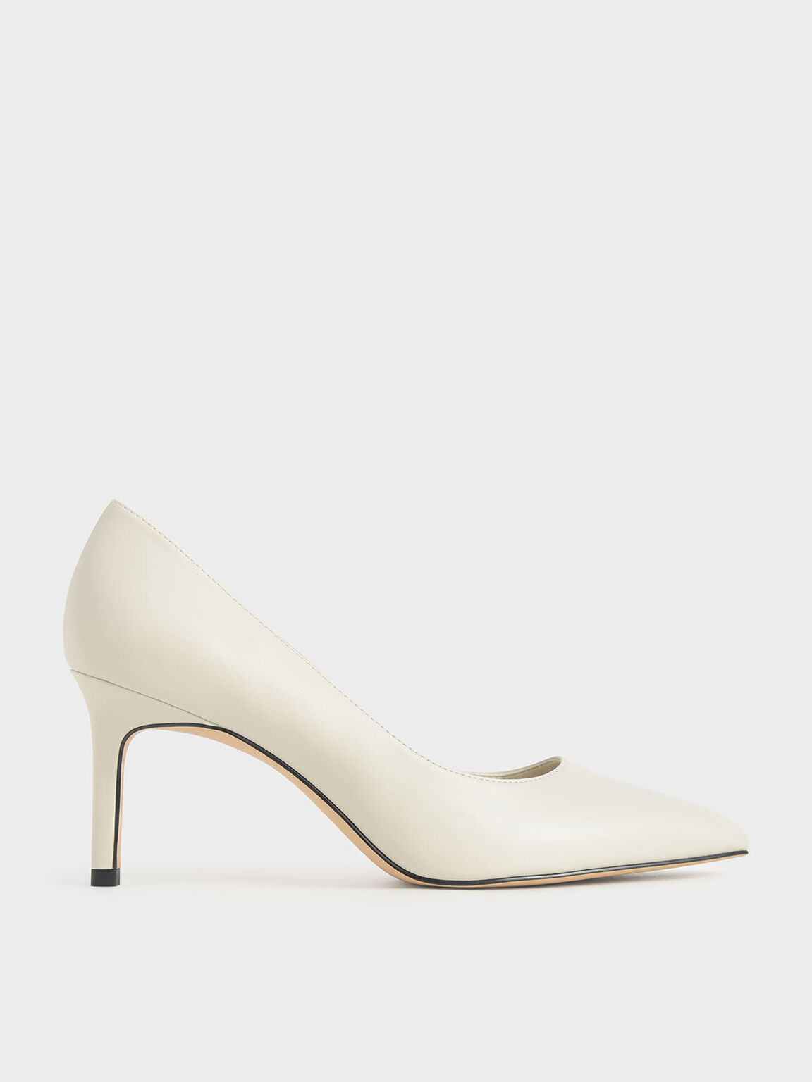 Pointed Toe Pumps, Chalk, hi-res