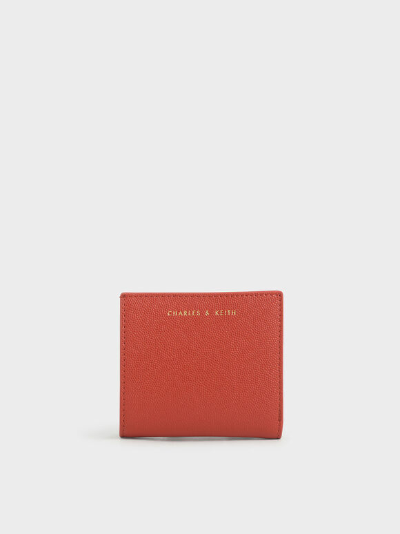 經典短夾, 磚紅色, hi-res
