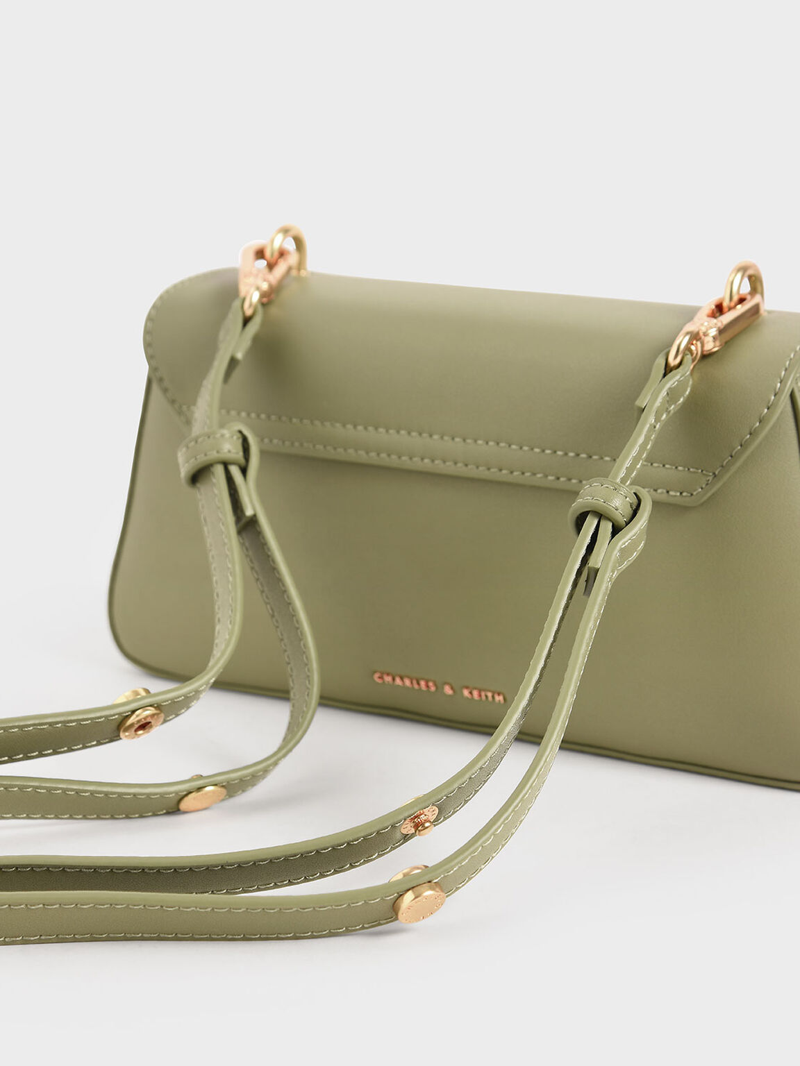 Large Textured Double Handle Bag, Sage Green, hi-res