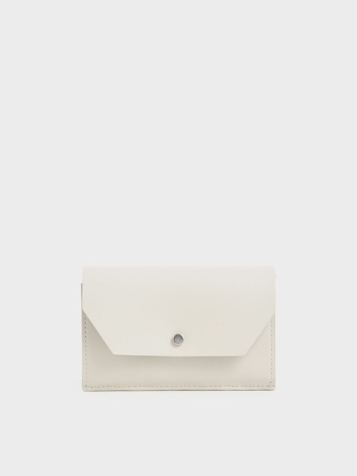 Reversible Front Flap Card Holder, Cream, hi-res