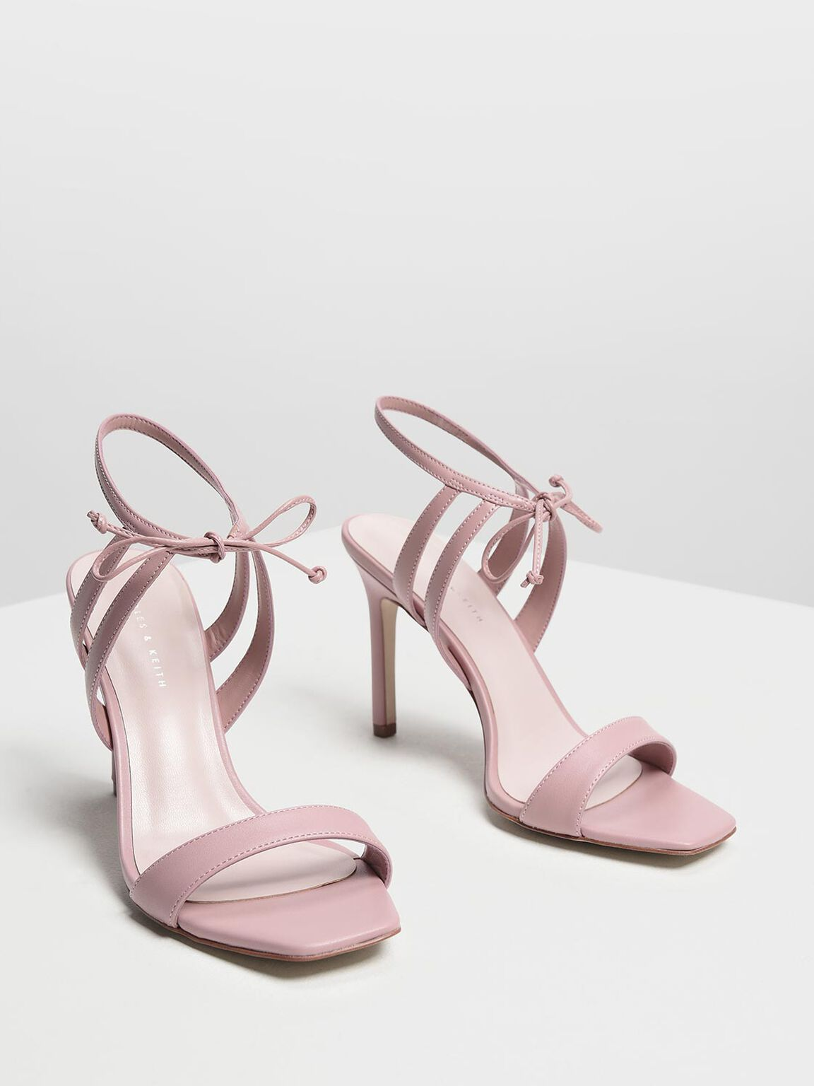 Strappy Heeled Sandals, Blush, hi-res