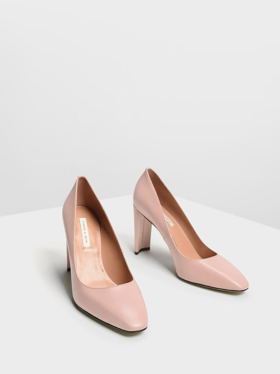 Blade Heel Pumps, Blush, hi-res