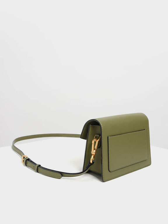 Envelope Bag, Mint Green, hi-res