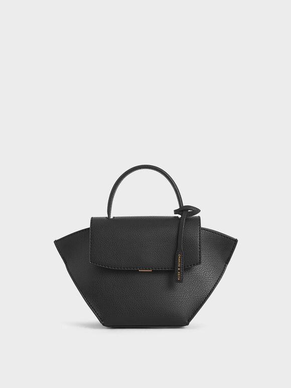 大型手提鞦韆包, 黑色, hi-res