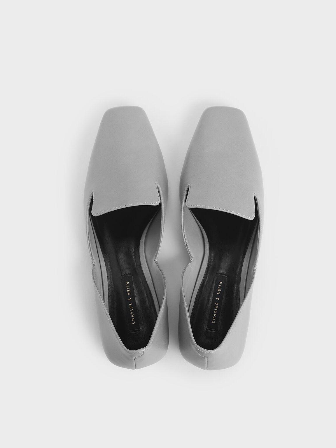 簡約樂福鞋, 灰色, hi-res