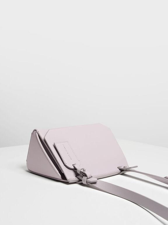 Front Flap Crossbody Bag, Lilac, hi-res