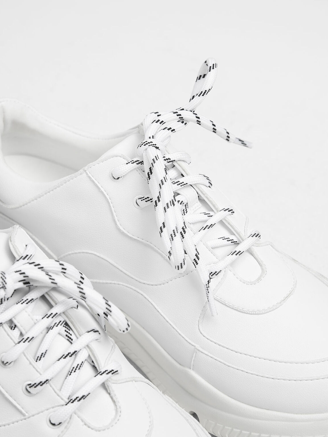 Chunky Sneakers, White, hi-res