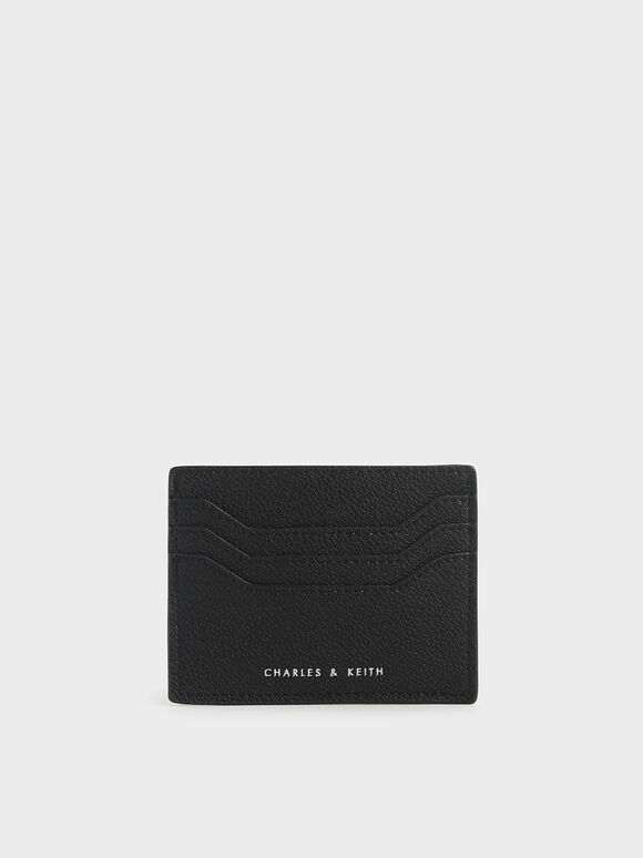 Multi-Slot Card Holder, Black, hi-res