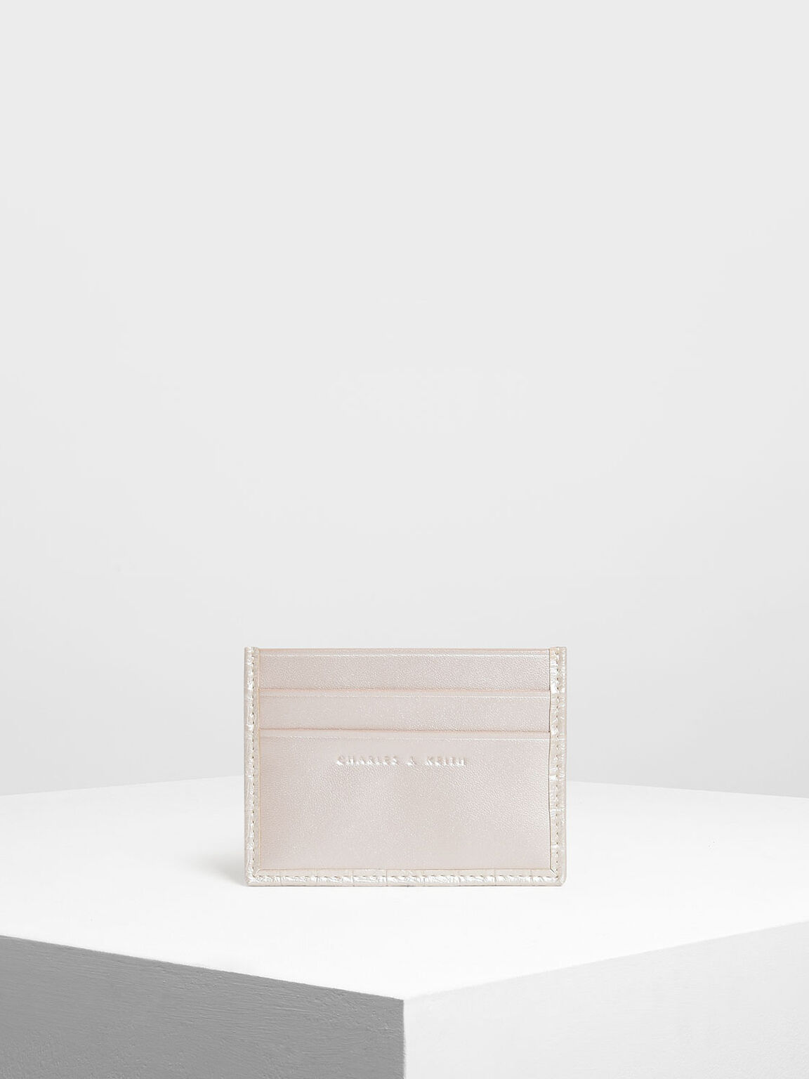 Classic Multi Slot Card Holder, Pearl, hi-res