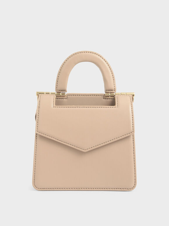 Mini Envelope Bag, Beige, hi-res
