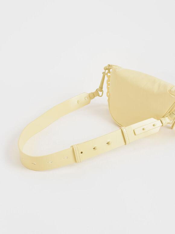 Glow-In-The-Dark Saddle Bag, Butter, hi-res