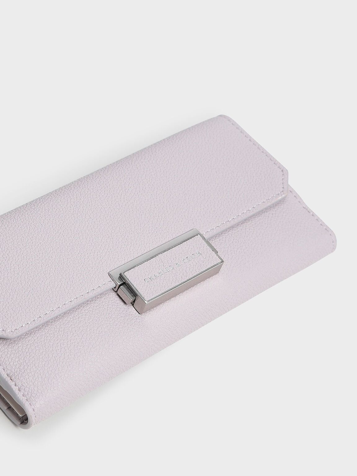 Classic Long Wallet, Lilac, hi-res
