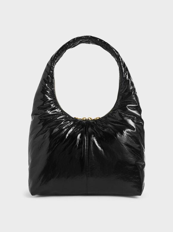 手提枕頭包, 黑色, hi-res