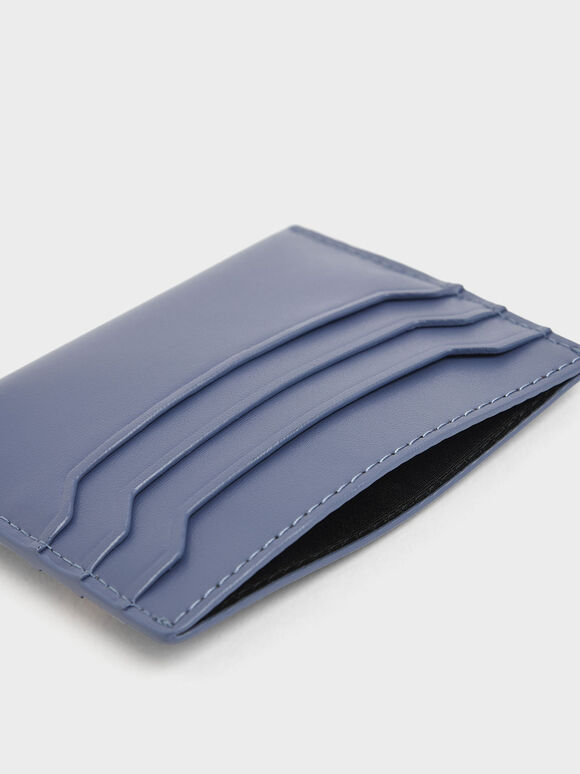Multi Slot Card Holder, Blue, hi-res