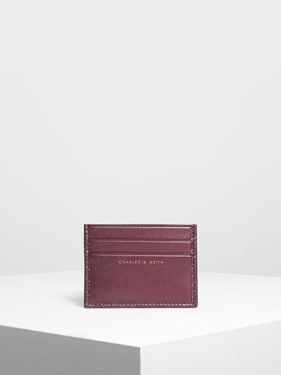 클래식 멀티 슬롯 카드 홀더, Prune, hi-res