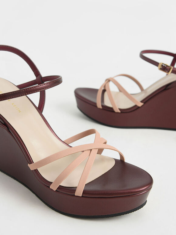 Strappy Wedges, Multi, hi-res