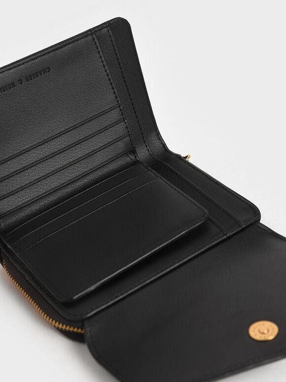 信封式皮夾, 黑色, hi-res