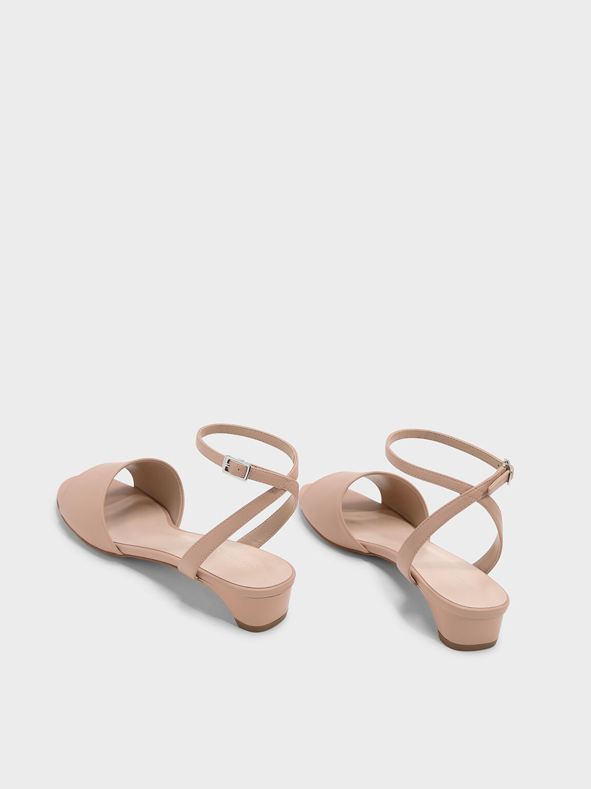 Ankle Strap Sandals, 누드, hi-res