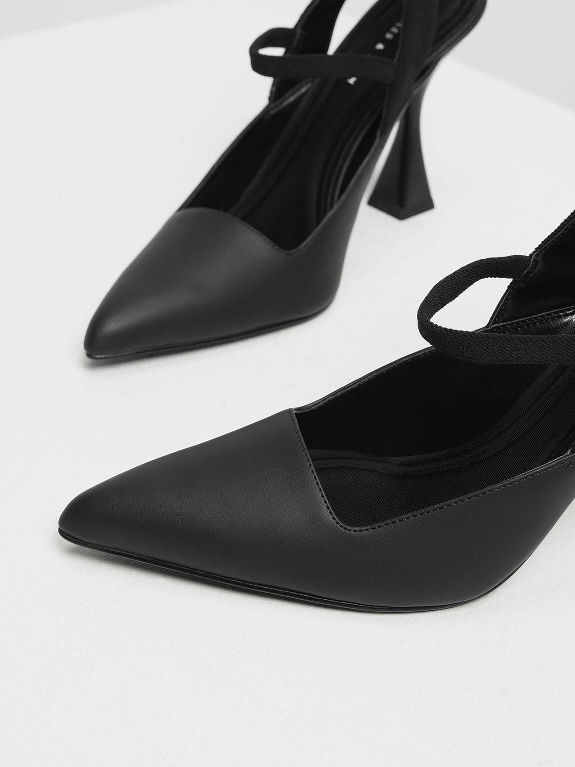 錐形高跟鞋, 黑色, hi-res