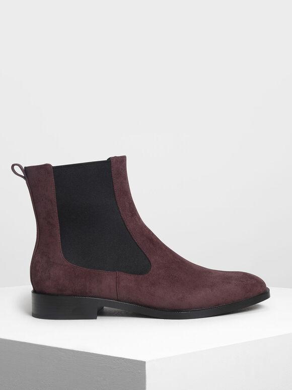 Classic Chelsea Boots, Purple, hi-res