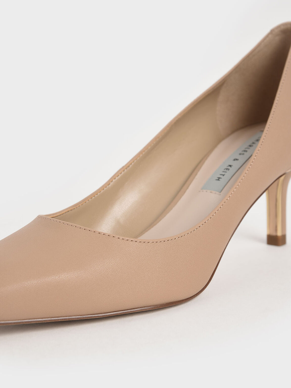 Pointed Toe Pumps, Sand, hi-res