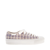 WOVEN GINGHAM SNEAKERS